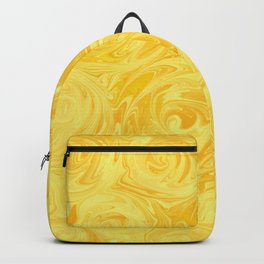 Honey Yellow Roses Abstract Backpack
