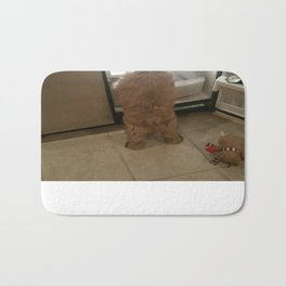 Squeaky, I found our snacks! Bath Mat