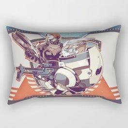 Mass Effect : Shep & Garrus v.2016 Rectangular Pillow