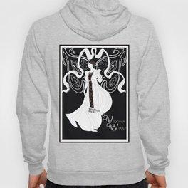Virginia Woolf Art Nouveau Hoody