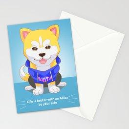 Akita Inu Stationery Cards