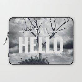 Motus Operandi Collection: Say hello Laptop Sleeve