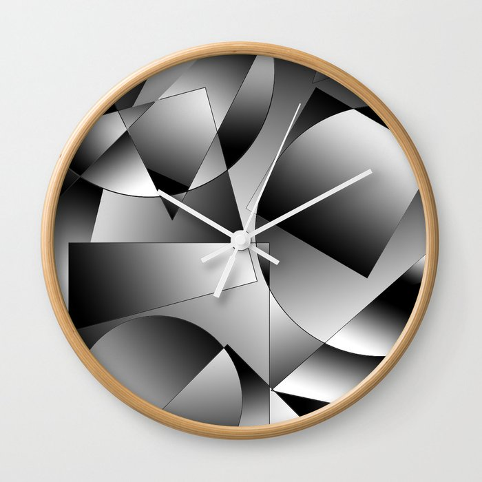 shapes Wall Clock