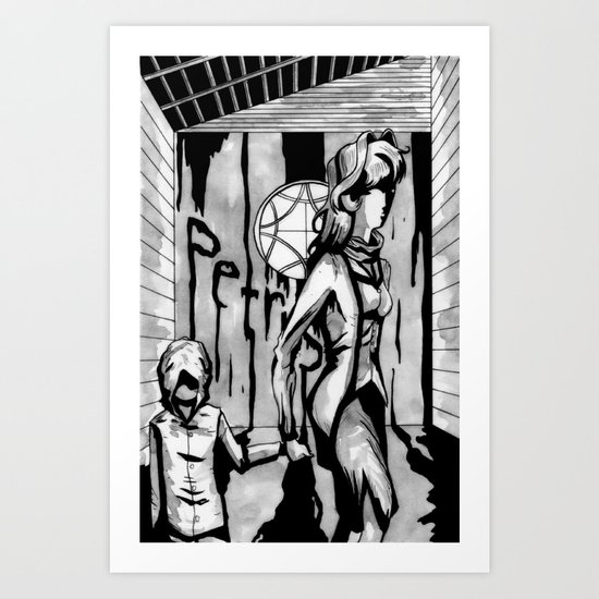 PETRUS 2 Art Print