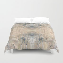 Glitch Vintage Rug Abstract Duvet Cover