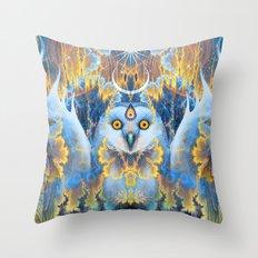 Moon Rhapsody Throw Pillow