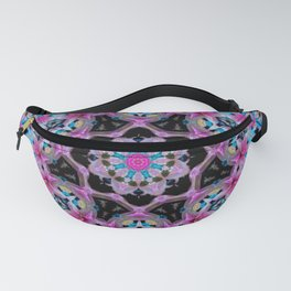 KALEIDOSCOPE ABSTRACT LILY SHINING COLOR 2 Fanny Pack