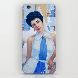 Elizabeth Taylor, Old Hollywood series iPhone Skin