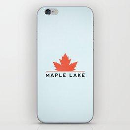 Maple Lake iPhone Skin