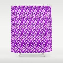 Waves of Geometrics.... Shower Curtain