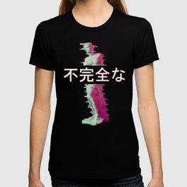 Aesthetic Venus Statue Retro 80s & 90s Glitch Art design graphic T-shirt