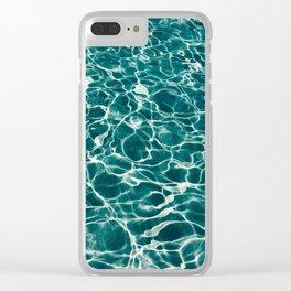 Summer sea waves Florida beach hd photography Clear iPhone Case