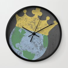 King Of The World Wall Clock
