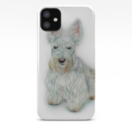 Wheaten Scottish Terrier iPhone Case