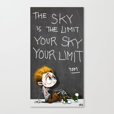 Your sky is your Limit Canvas Print