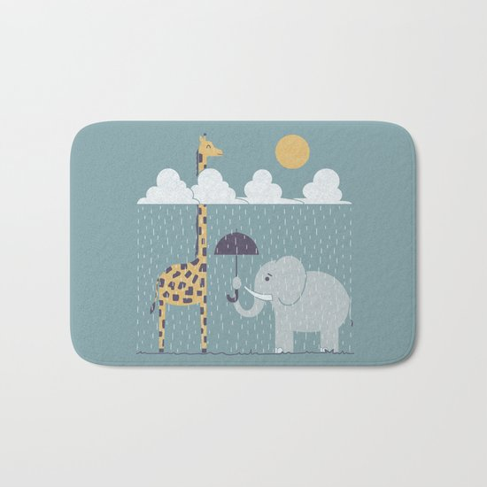 It's Always Sunny Up Here Bath Mat