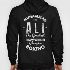 Boxing Ali Canvas Hoody