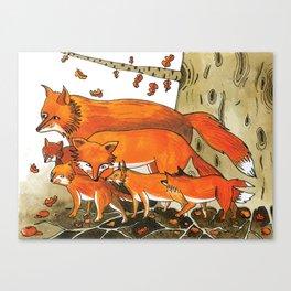 Noah's Ark - Fox Canvas Print