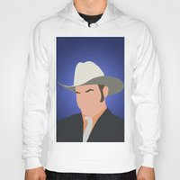 anchorman Hoodies featuring Champ Kind - Anchorman by Tom Storrer