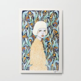 Emilia Metal Print