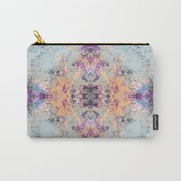 Colorful Abstract Decorative Boho Chic Style Mandala - Pannh Carry-All Pouch