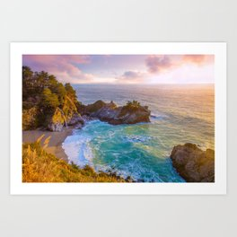 Magical Cove, Big Sur II Art Print