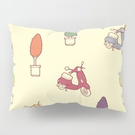 Scooters Pillow Sham