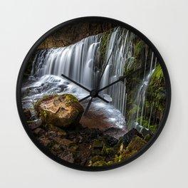 Sgwd Clun Gwyn, top section Wall Clock