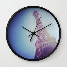 Faux Eiffel Wall Clock