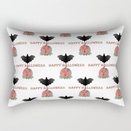 Happy Halloween Pattern Rectangular Pillow