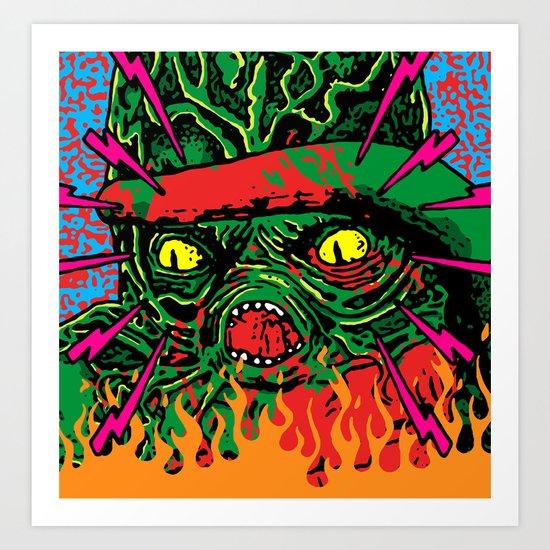 Octaman! Art Print