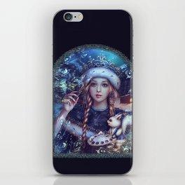 Snegurochka iPhone Skin