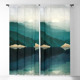 Waters Edge Reflection Blackout Curtain