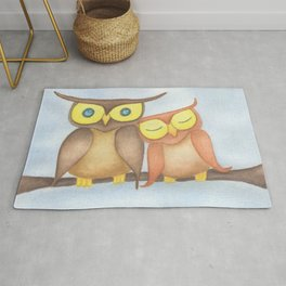 The Owl Lovers Rug