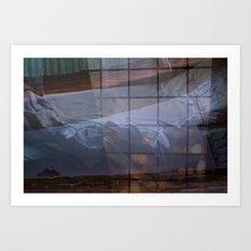 Beside Art Print