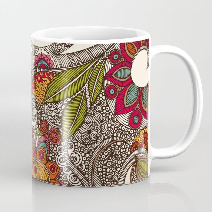 Random Flowers Coffee Mug