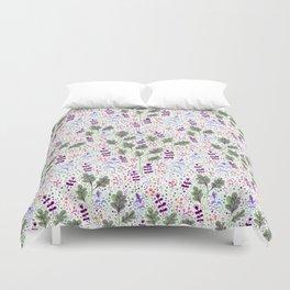 Marker Florals Duvet Cover
