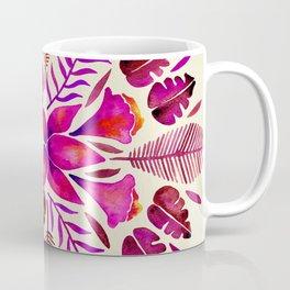 Tropical Symmetry – Magenta Coffee Mug