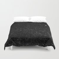 starry night Duvet Covers featuring Starry Night by The Wellington Boot
