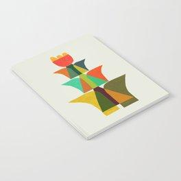 Whimsical bromeliad Notebook