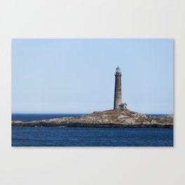 North Lighthouse Tower Thacher Island Canvas Print