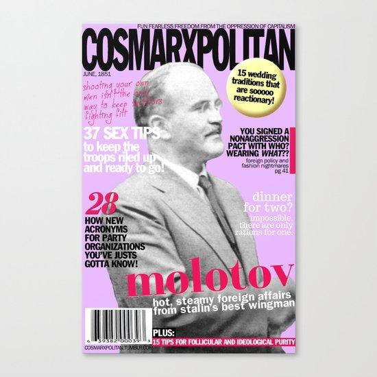 COSMARXPOLITAN, Issue 17 Canvas Print