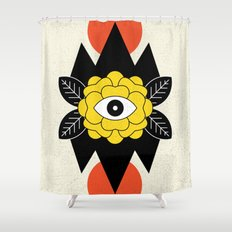 STAY CURIOUS Shower Curtain
