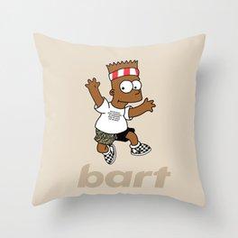 Ocean Bart Throw Pillow