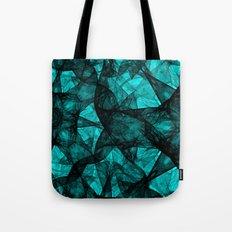 Fractal Art Turquoise G52 Tote Bag