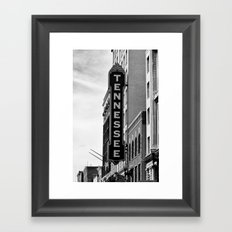 Tennessee Theater - Knoxville Framed Art Print
