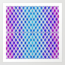 Ice Palace Pattern Art Print