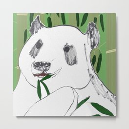 Impersonal Panda Metal Print