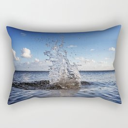 Water sculpture Rectangular Pillow