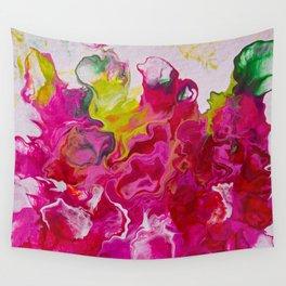 Inviting iris Wall Tapestry